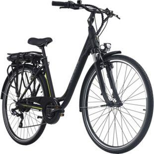Adore Pedelec E-Bike Cityfahrrad 28'' Adore Versailles schwarz-grün - Bild 1