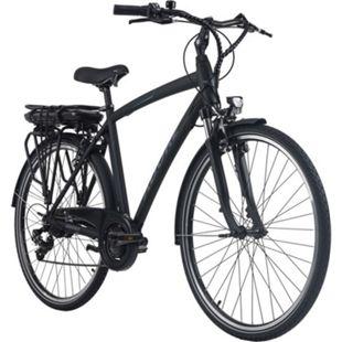 Adore Pedelec E-Bike Cityfahrrad 28'' Adore Versailles schwarz-blau - Bild 1
