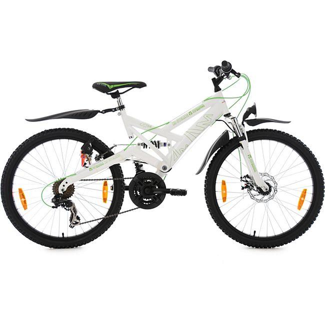 KS Cycling Jugendfahrrad Mountainbike ATB Fully 24 Zoll 4Masters - Bild 1