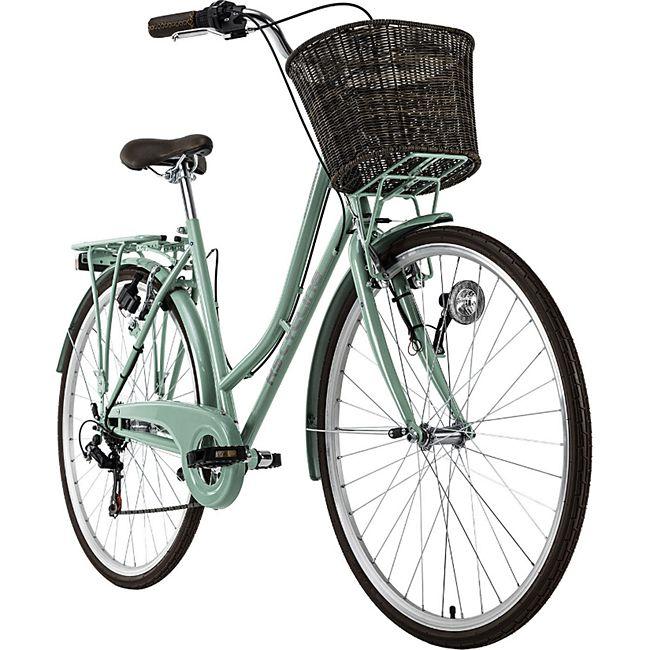 KS Cycling Cityrad 6 Gänge Damenfahrrad Stowage 28 Zoll - Bild 1