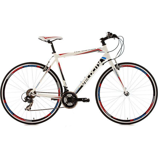 KS Cycling Fitnessrad 21 Gänge Fitness-Bike Velocity weiß 28 Zoll - Bild 1
