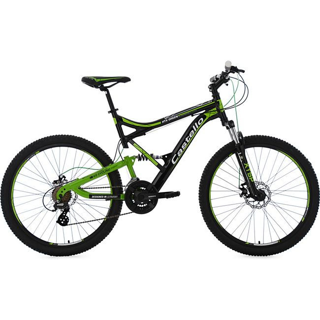 KS Cycling 26 Fully Mountainbike 21 Gänge Castello HTX - Bild 1