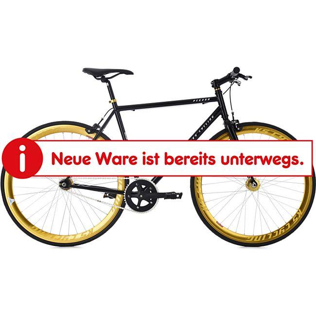 KS Cycling Fixie Fitnessbike 28 Zoll Pegado schwarz - Bild 1
