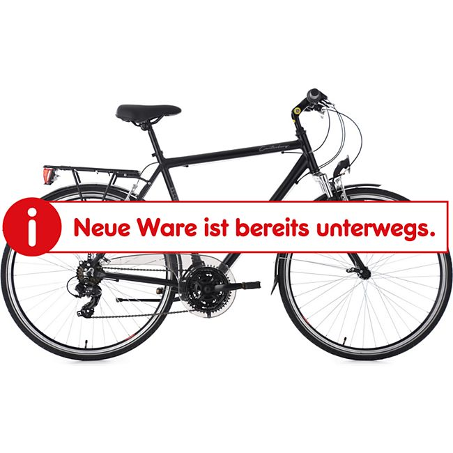 "KS Cycling Trekkingrad Herren 28"" Canterbury 21 Gang schwarz - Bild 1"