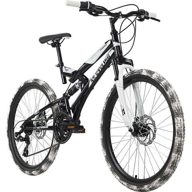 KS Cycling Kinderfahrrad MTB 24'' Crusher - Bild 1