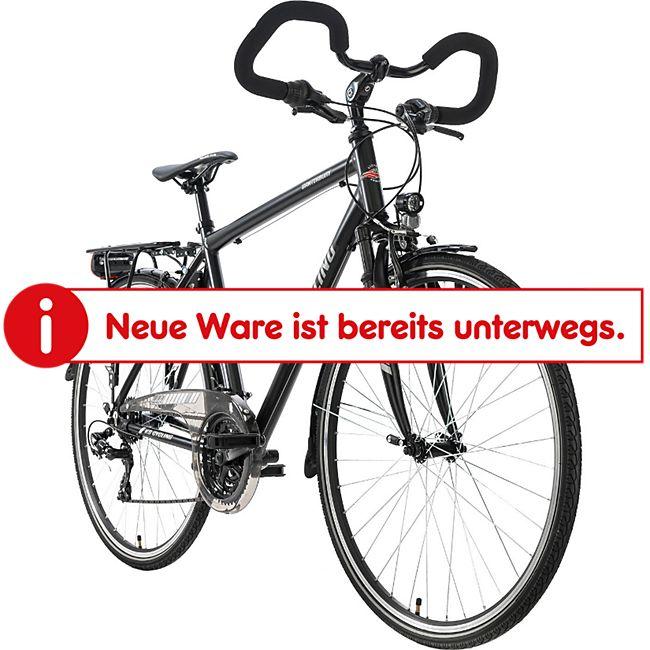 """KS Cycling Trekkingrad Herren 28"""" Canterbury 21 Gang schwarz Multipositionslenker - Bild 1"""