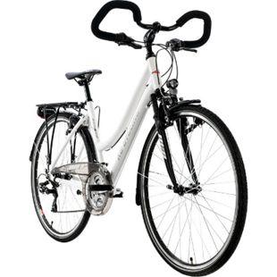 "KS Cycling Trekkingrad Damen 28"" Canterbury 21 Gang weiß Multipositionslenker - Bild 1"