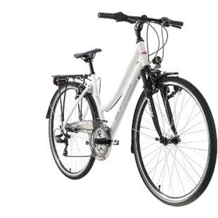"""KS Cycling Trekkingrad Damen 28"""" Canterbury 21 Gang weiß Tourenlenker - Bild 1"""