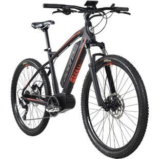 Adore Alu E-Mountainbike Hardtail 27,5'' Adore Xpose Schwarz Mittelmotor 36 V/14 Ah Li-Ion-Akku 9-Gang - Bild 1