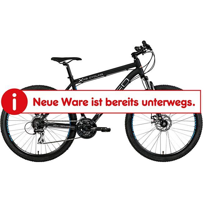 KS Cycling Hardtail Mountainbike 24 Gänge Xceed schwarz 27,5 Zoll - Bild 1