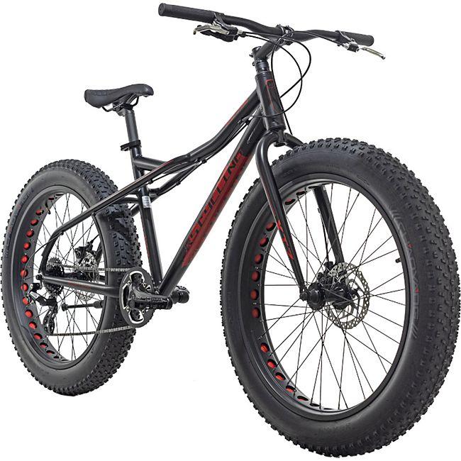 KS Cycling Mountainbike MTB Fatbike SNW2458 schwarz - Bild 1