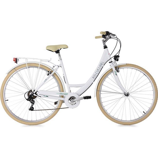 KS Cycling Damenfahrrad Cityrad 6-Gänge Toskana 28 Zoll - Bild 1