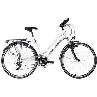 KS Cycling 28  Zoll Trekkingrad Damenfahrrad Metropolis 21 Gänge Multipositionslenker - Bild 1