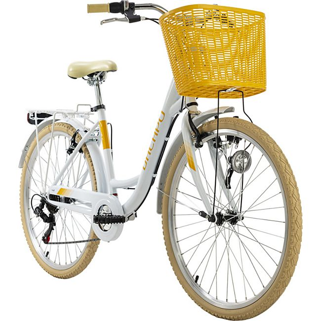 KS Cycling Cityrad 6-Gänge Cantaloupe 26 Zoll - Bild 1