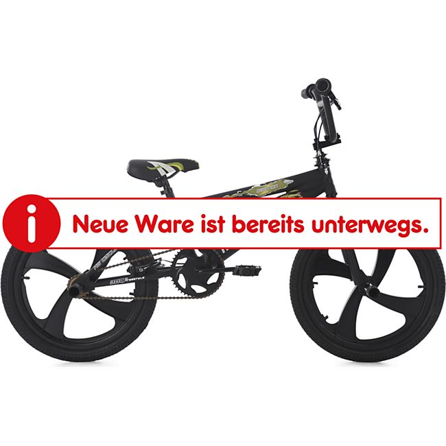 KS Cycling BMX Freestyle 20'' Daemon schwarz - Bild 1