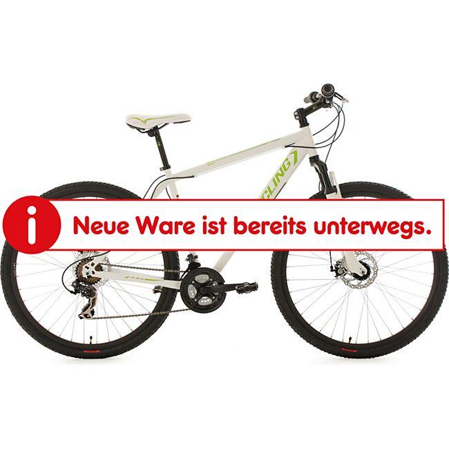 """KS Cycling Mountainbike Hardtail Twentyniner 29"""" Heist weiß RH 51 cm - Bild 1"""