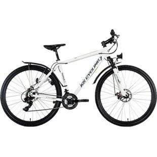 "KS Cycling Mountainbike Hardtail ATB Twentyniner 29"" Heist weiß-grün - Bild 1"