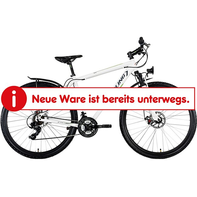 "KS Cycling Mountainbike Hardtail ATB Twentyniner 29"" Heist weiß-grün - Bild 1"