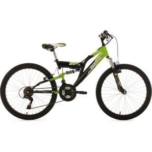 "KS Cycling Kinderfahrrad MTB Fully 24"" Zodiac RH 38 cm - Bild 1"