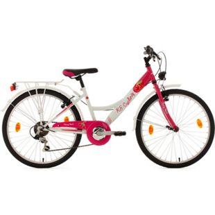 KS Cycling Kinderfahrrad 6 Gänge Mädchenfahrrad Cherry Heart 24 Zoll - Bild 1