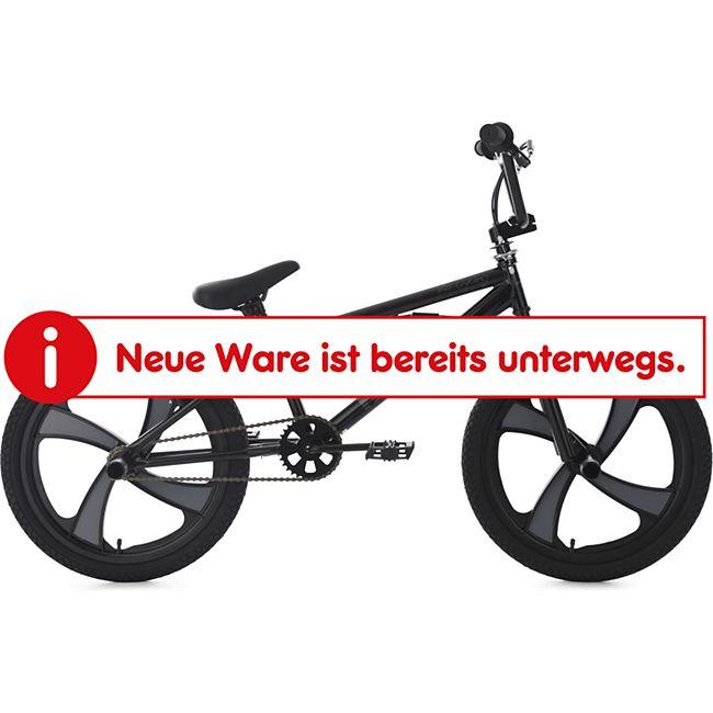 KS Cycling BMX Freestyle 20'' Rise Mag Wheel schwarz-grau - Bild 1