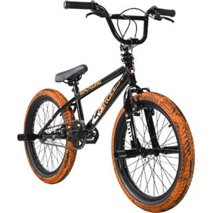 KS Cycling BMX Freestyle 20'' 23 Circles schwarz-orange - Bild 1