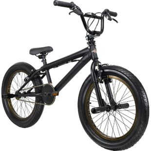 KS Cycling BMX Freestyle 20'' Fatt schwarz-bronze - Bild 1