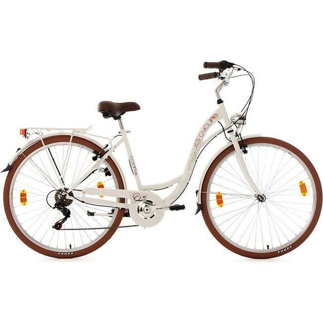 KS Cycling Cityfahrrad 6 Gänge Damenfahrrad Eden 28 Zoll - Bild 1