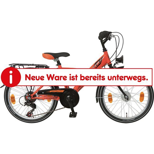 Bachtenkirch Kinderfahrrad 20 Zoll Browser Boy 6 Gänge orange - Bild 1