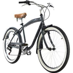 KS Cycling Beachcruiser Herrenfahrrad Cruizer 26 Zoll grau - Bild 1