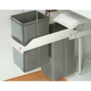 Hailo Einbau-Mülltrennungs-System Multi-Box 2x15 - Bild 1