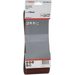 Bosch 3x Schleifbänder 100x560mm K 120 Best for Wood & Paint  2608606117 - Bild 1
