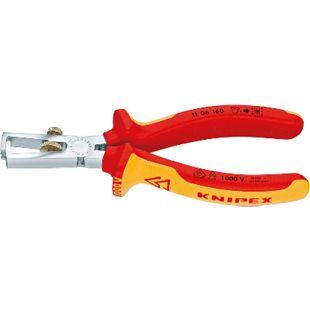Knipex Abisolierzange VDE 1000 V 160 mm 1106 E 454 361 - Bild 1