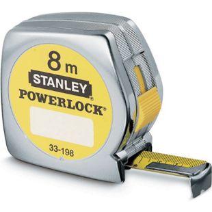 Stanley Bandmass Powerlock Ku-Gehäuse 25mm/8m  0-33-198 - Bild 1