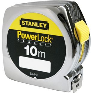 Stanley Bandmass Powerlock Ku-Gehäuse 25mm/10m 0-33-442 - Bild 1