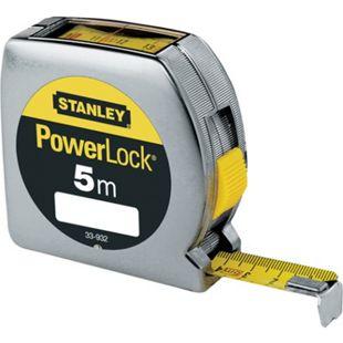 Stanley Bandmass Powerlock Ku-Gehäuse mit Sichtfenster 19mm/5m 0-33-932 - Bild 1