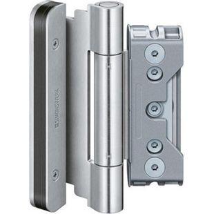 Simonswerk BAKA Protect Haustürband  4010 3D FD aus aus Edelstahl 1 Satz = 3 Stk  5 080822 0 04085 - Bild 1