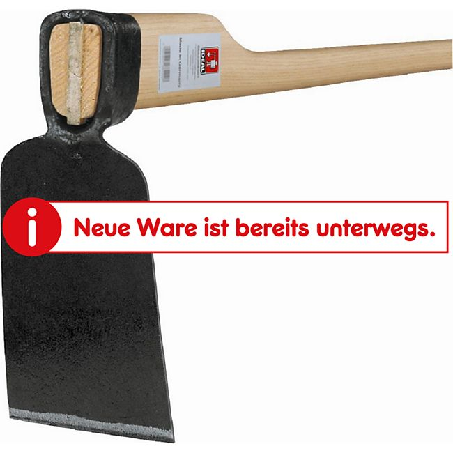 Ideal Rheinische-Hacke Gr.0, Eschenstiel 135cm - Bild 1
