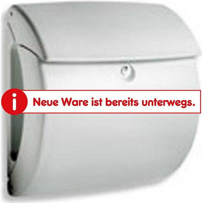 Burg-Wächter Briefkasten Kiel Nr.886 SI silber aus Kunststoff 886SI Burgwächter - Bild 1