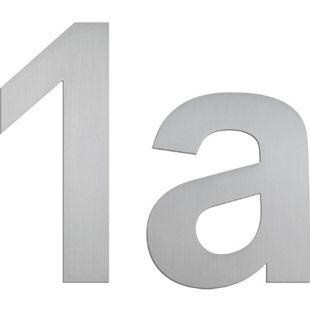 """Serafini Hausnummern """"7"""" Nr. Höhe 150mm Stärke 3mm Edelstahl V4A 30.6407.03 - Bild 1"""