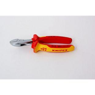Knipex Seitenschneider X-Cut VDE 1000 V 160 mm 7306  7306160 - Bild 1