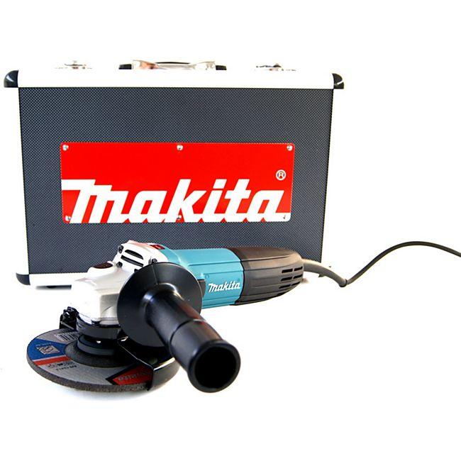Makita Winkelschleifer im Koffer+Zubehör GA 5030 RSP1 125 mm GA5030RSP1 - Bild 1