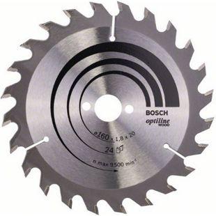 Bosch Kreissägeblatt Optiline Wood 160x20/16x1,8mm Z24WZ 2608641171 - Bild 1