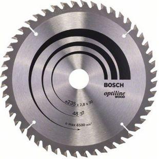 Bosch Kreissägeblatt Optiline Wood 235x30/25x2,8mm Z48WZ 2 608 640 727 - Bild 1