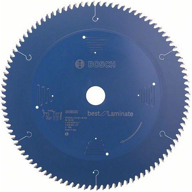 Bosch Kreissägeblatt Best for Laminate 304,8x30x2,5/1,8mm Z96TR-F 2 608 642 137 - Bild 1