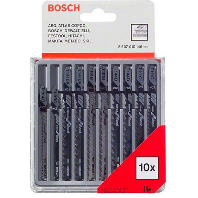 Bosch Stichsägeblatt-Sortiment / Holz 10-teilig 2 607 010 146 - Bild 1