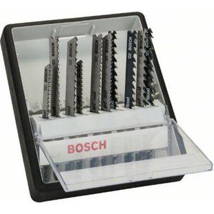 """Bosch Stichsägeblatt-Set 10-teilig """"Wood Expert"""" 2607010540 - Bild 1"""