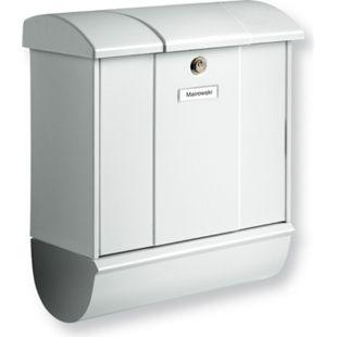 Burg-Wächter Briefkasten Olymp-Set 91600 Si in silber 91600SI Burgwächter - Bild 1