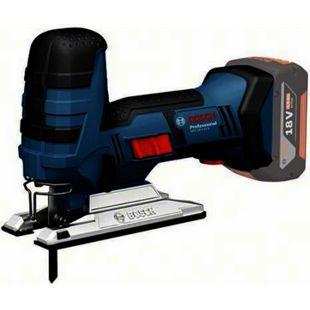 "Bosch Akku-Stichsäge 0 601 5A5 101 GST 18 V-Li S ""Clic-Solo"" L-Boxx - Bild 1"