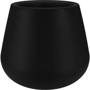 Elho Pure Cone Ø45xH36 cm, schwarz - Bild 1